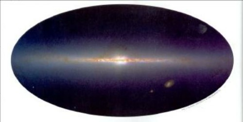 The Gnostic Scenario of the Earth Goddess Sophia GalaxySideView2