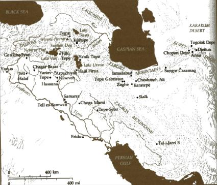 The Fertile Crescent Map Labeled The Fertile Crescent Map